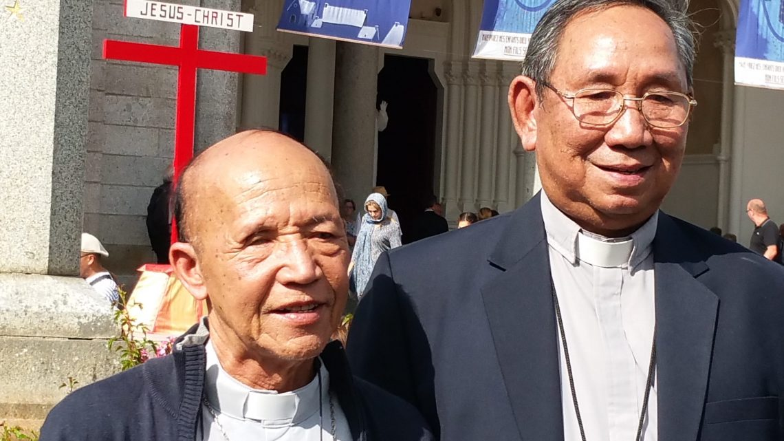 Messe à Pontmain le 15 Août 2018
